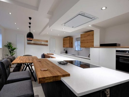 Luxury Kitchen Installation - Cymau north Wales