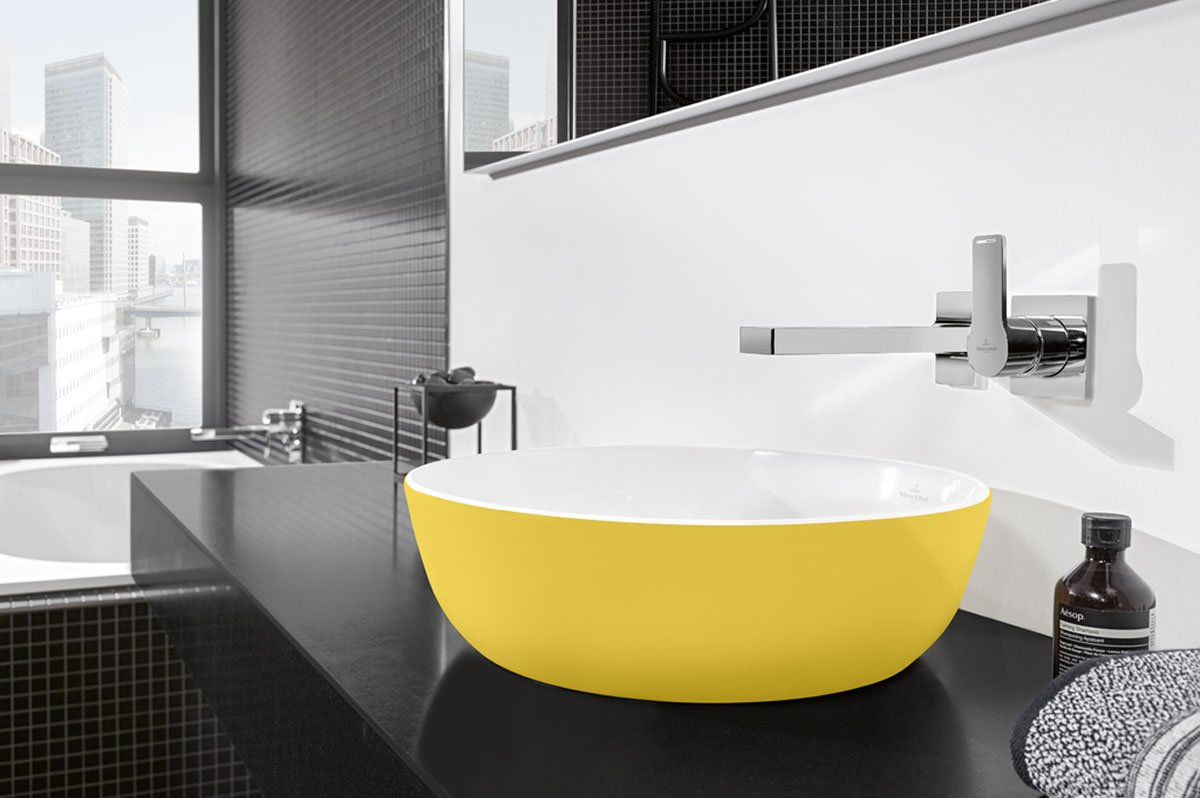 Villeroy & Boch Artis Washbasin in Yellow
