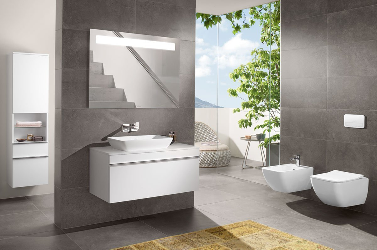 Bathroom Suite - White