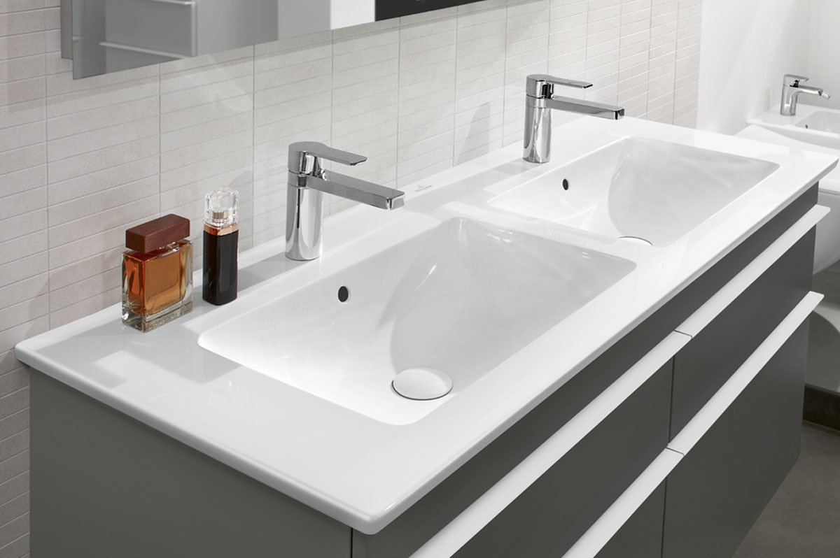 Venticello Double Sink Unit