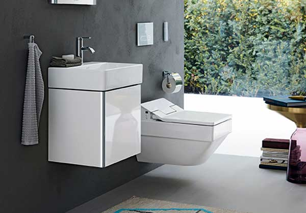 xSquare for smaller bathrooms