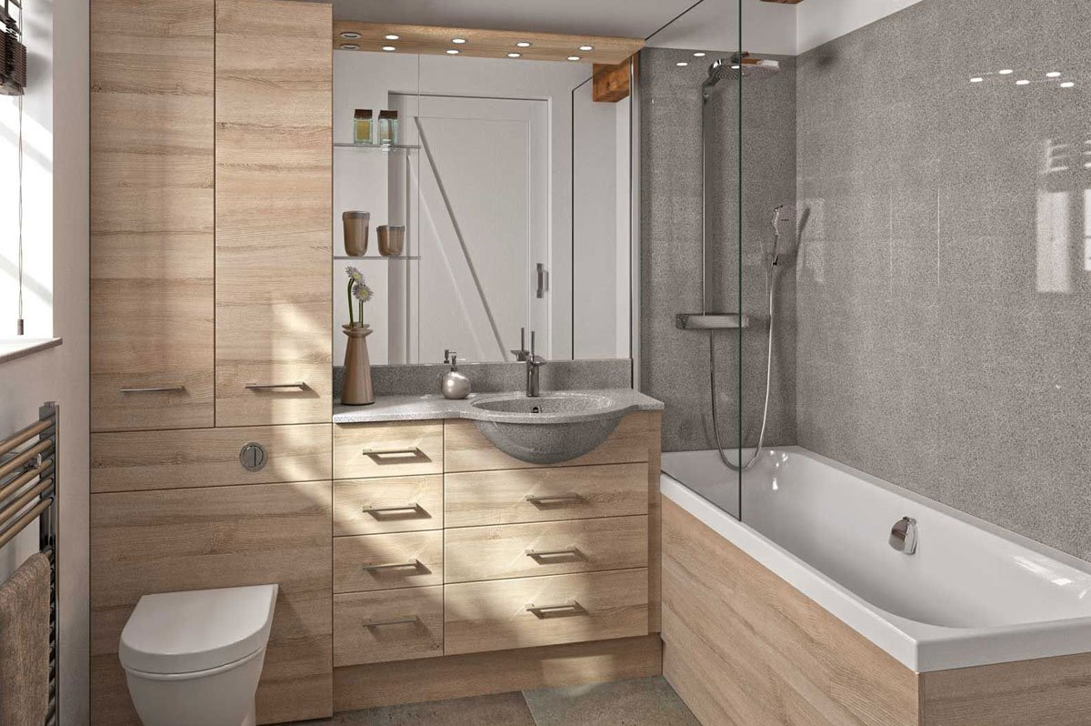 Fitted Hi-Line Bathroom Units