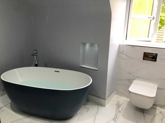 Finished Bathroom in Upton Chester