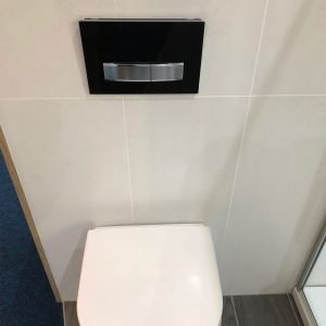 Gerabit Sigma50 Flush Plate in Black