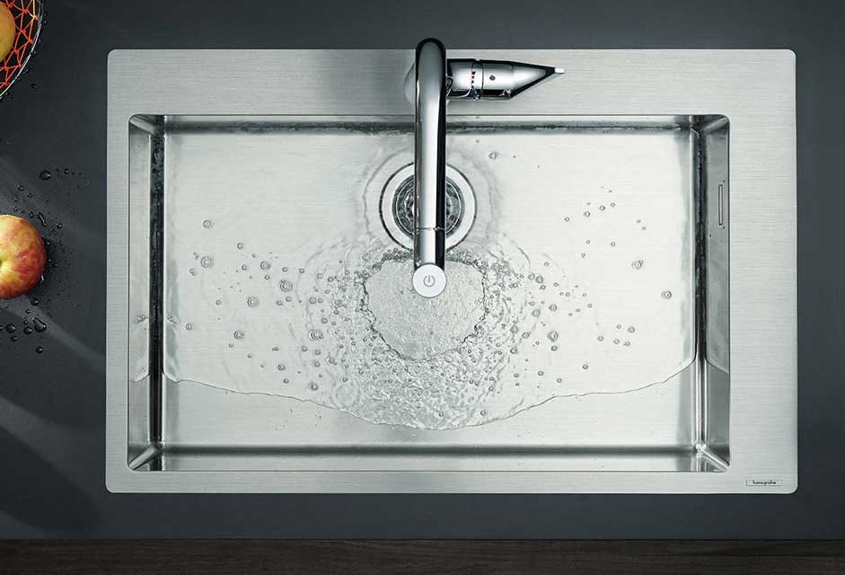 Hansgrohe Stainless Steel Kitchen Sink