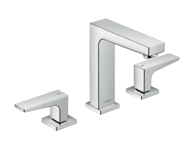 Metropol 3 Hole Basin Mixer