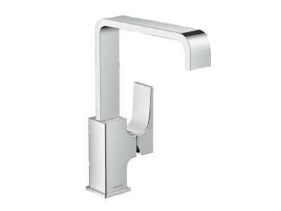 Metropol Single Level Basin Mixer with Push Open Waste